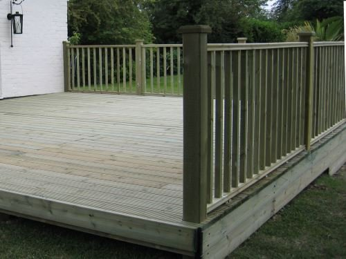 Decking Balustrade