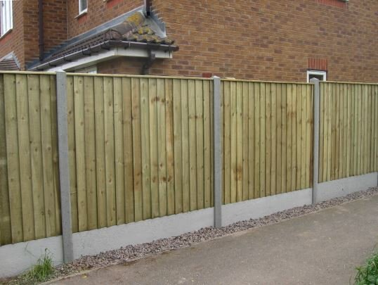 Heavy Duty Feather Edge Fence Panel Close Board Fencing Panel 6x6 6x5 6x4 6x3